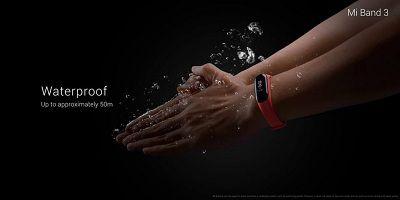 Khả năng chống nước của Xiaomi Mi Band 3 cực tốt