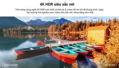 Hình ảnh chất lượng 4K trên Xiaomi MiBox S 4K