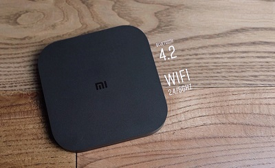 Tính năng wifi và bluetooth được tích hơp phiên bản mới nhất trên Xiaomi MiBox S 4K