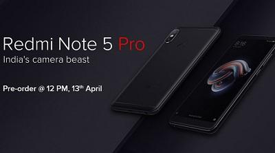Điện thoại Xiaomi Redmi Note 5 Dual Camera AI