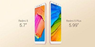Bộ đôi Xiaomi Redmi 5 và Redmi 5 Plus