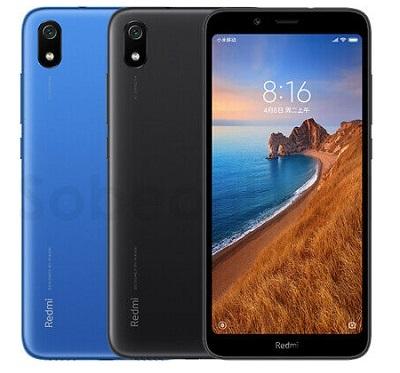 Với 2 màu sắc : Đen và Xanh trên điện thoại Xiaomi Redmi 7A