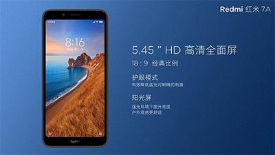 Màn hình vừa đủ, hiển thị tốt trên điện thoại Xiaomi Redmi 7A