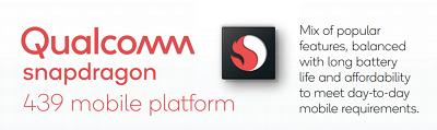 Chipset Qualcomm Snapdragon 439 8 nhân trên điện thoại Xiaomi Redmi 7A