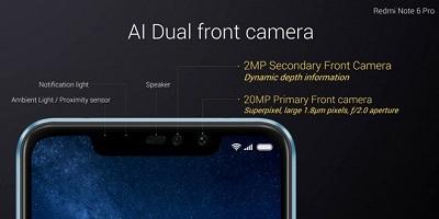 Điện thoại Xiaomi Redmi Note 6 Pro