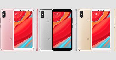 Xiaomi Redmi S2 với 3 tồng màu.