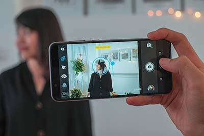Chế độ chụp hình trên Zenfone Max Pro