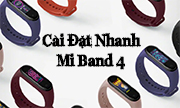Cách kết nối Mi Band 4 chỉ trong một nốt nhạc