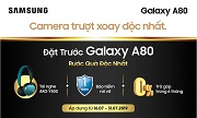 Đặt trước Samsung Galaxy A80 nhận bộ quà tặng thời thượng cực chất