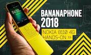 Điện thoại Nokia 8110 4G bất ngờ tái sinh tại hội nghị MWC 2018