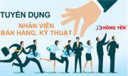 Hồng Yến mobile tuyển dụng nhân viên Bán Hàng và Kỹ Thuật - 04/2018