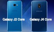 Samsung ra mắt Galaxy J2 và Core J4 Core tại Việt Nam cấu hình thấp, giá rẻ.