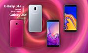Samsung ra mắt Galaxy J4+ và J6+ với cảm biến vân tay ở cạnh bên