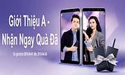 Giới thiệu A - Nhận ngay quà đã: khi giới thiệu điện thoại Galaxy A8 Plus