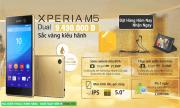 Chương Trình Pre Order Điện Thoại Sony Xperia M5 Dual