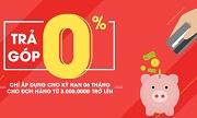 Trả Góp 0% Lãi Suất Qua Thẻ Tín Dụng tại Hồng Yến mobile