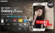 PRE-ODER SAMSUNG GALAXY J7 PRIME NHẬN BỘ QUÀ TẶNG KHỦNG