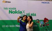 Offline điện thoại Nokia X sôi nổi tại TP HCM