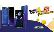 Giá sốc cuối tuần, mua ngay Realme giảm đến 500k vào hai ngày 29-30/06.