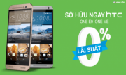 MUA HTC ONE ME VÀ E9 TRẢ GÓP 0% LÃI SUẤT