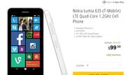 Điện thoại Nokia Lumia 635 giá 100 USD bán trên Newegg