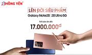 Thu cũ đổi mới - Tiết kiệm đến hơn 15 triệu đối với Samsung Note 20|Note 20 Ultra