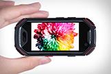 Chiếc Smartphone siêu nhỏ chạy Android, có vân tay, mạng 4G, kháng nước