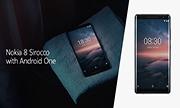 Đánh giá nhanh điện thoại Nokia 8 Sirocco: màn hình cong, ống kính Zeiss