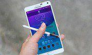 Ảnh chi tiết thiết kế của Samsung Galaxy Note 4