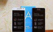 Mở hộp Samsung Galaxy A5 vỏ kim loại, dáng mỏng