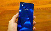Mở hộp Oppo Mirror 5 phiên bản màu xanh