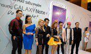 Hình ảnh sự kiện ra mắt Samsung Galaxy Note 4 tại Việt Nam