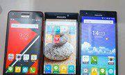 Bộ ba smartphone pin khủng của Philips