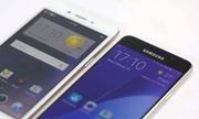 Galaxy A5 2016 được bình chọn chụp ảnh tốt hơn Oppo F1s