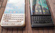 BlackBerry Priv so dáng Galaxy Note 5 khi gắn bàn phím