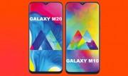 Samsung ra mắt Galaxy M10 và M20: camera kép, màn hình giọt nước
