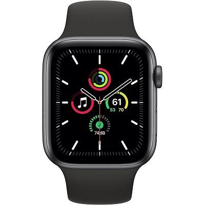 Apple Watch SE GPS 44mm Viền Nhôm Dây Cao Su - Chính hãng VN/A