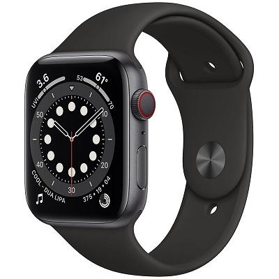Apple Watch Series 6 LTE 44mm Viền Nhôm Dây Cao Su - Chính hãng VN/A