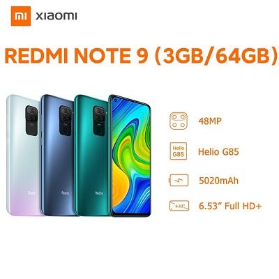 Xiaomi Redmi Note 9 3GB-64GB