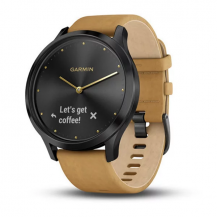Garmin Vivomove HR Premium Black Tan