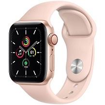 Apple Watch SE GPS 40mm Viền Nhôm Dây Cao Su - Chính hãng VN/A
