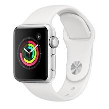Apple Watch Series 3 GPS 38mm Viền Nhôm Dây Cao Su - Chính hãng VN/A