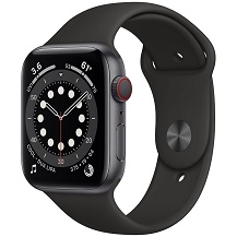 Apple Watch Series 6 GPS 44mm Viền Nhôm Dây Cao Su - Chính hãng VN/A